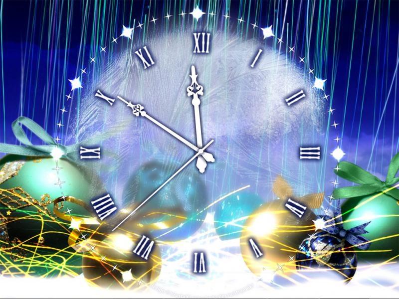 Pantallazo Friends Christmas Clock Screensaver