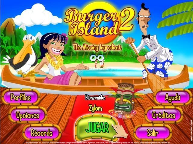 Pantallazo Burger Island 2 - The Missing Ingredient