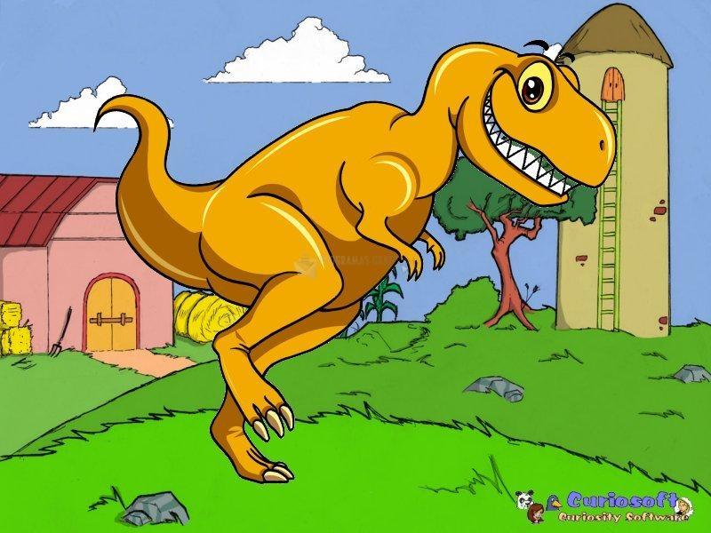 Pantallazo Free Dinosaur Screensaver