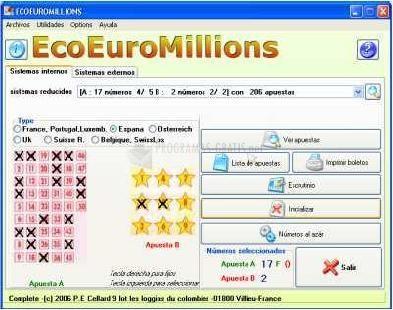Pantallazo EcoEuroMillions