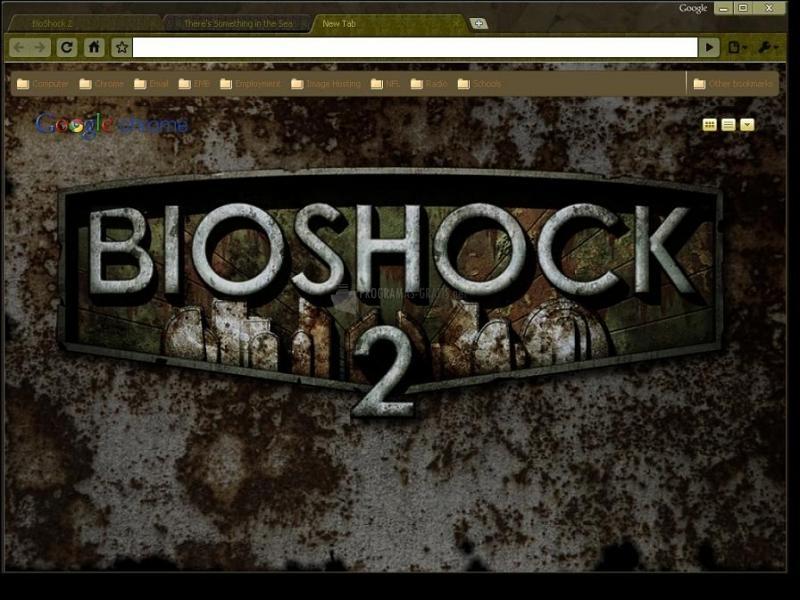 Pantallazo Bioshock 2 Theme Chrome