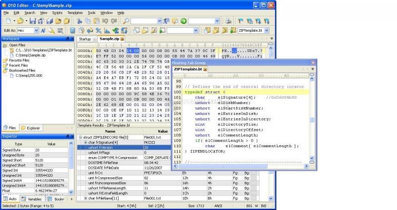 Pantallazo 010 Editor