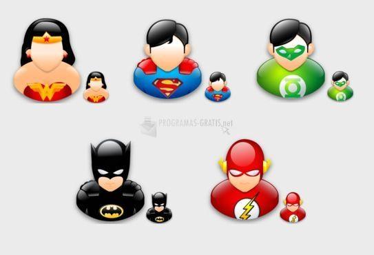 Pantallazo Super heroes sigma style