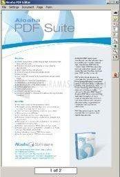 Pantallazo Aloaha PDF Suite