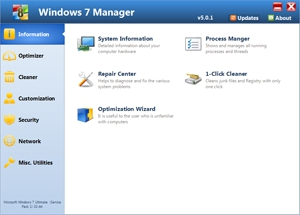 Pantallazo Windows 7 Manager