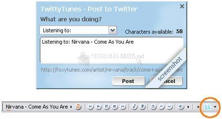 Pantallazo Twitty Tunes