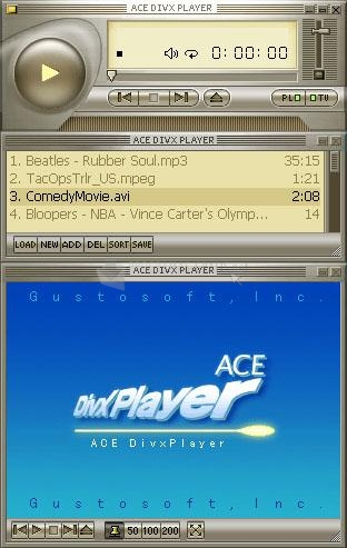 Pantallazo Ace DivX Player