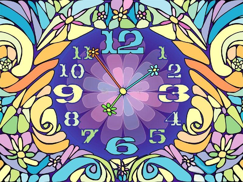 Pantallazo Blossom Clock Screensaver