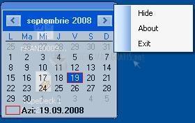 Pantallazo Simple Calendar