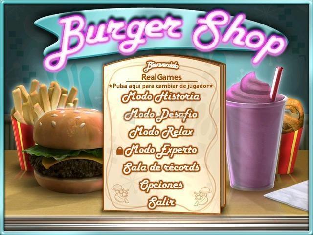 Pantallazo Burger Shop Deluxe