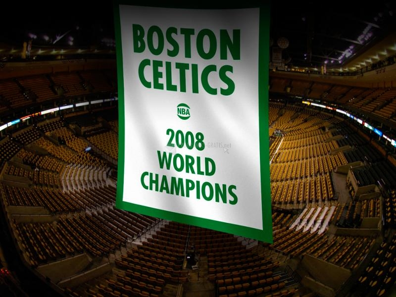 Pantallazo Boston Celtics 2008 Campeones NBA