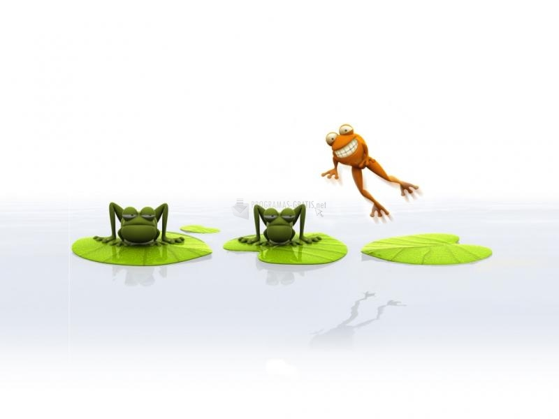 Pantallazo Funny Frogs