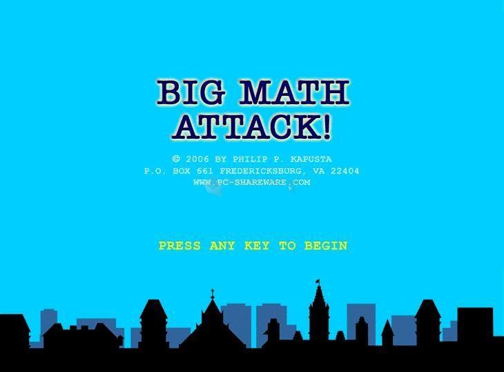 Pantallazo Big Math Attack