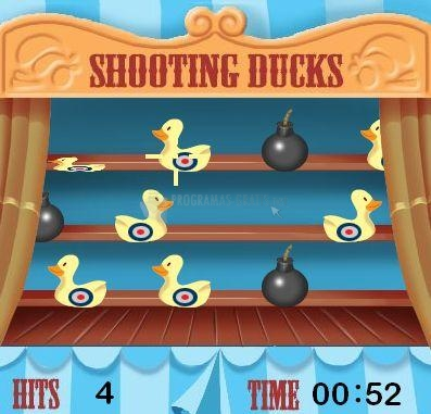 Pantallazo Shooting Ducks