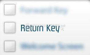 Pantallazo DC Return Key Enable
