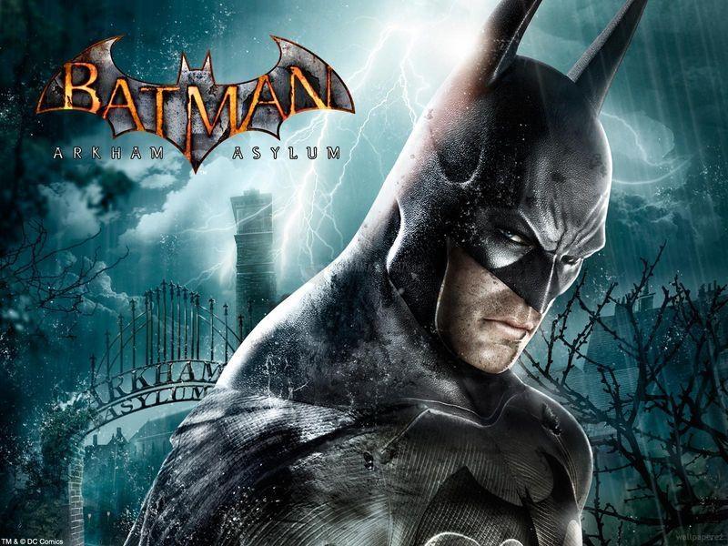 Pantallazo Batman Arkham Asylum Fondo