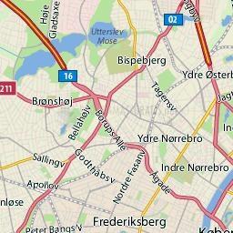 Pantallazo Schmap Copenhague