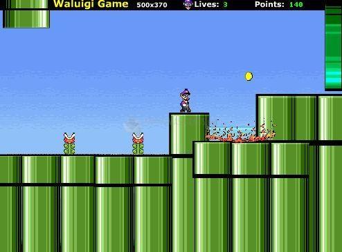 Pantallazo Super Waluigi Game