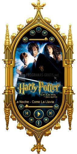Pantallazo Harry Potter WMP Skin