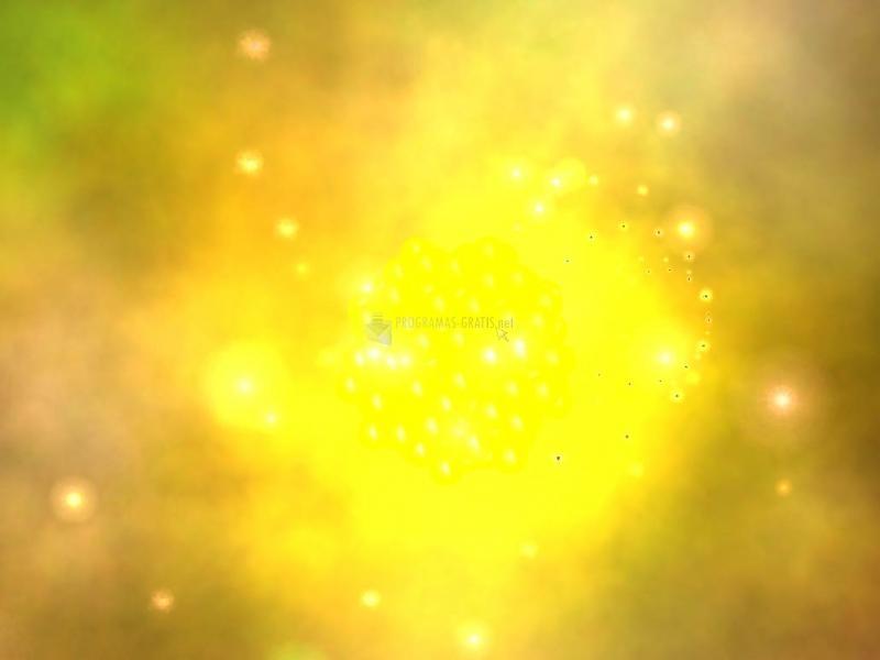 Pantallazo 3D Atom of Gold screensaver