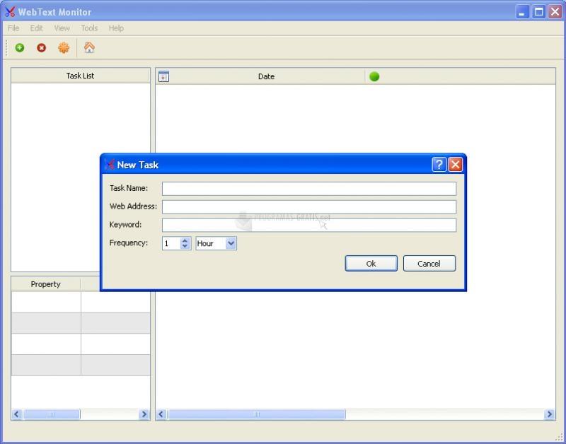 Pantallazo Web Text Monitor