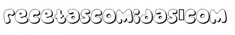 Pantalla Bubble Gums Font