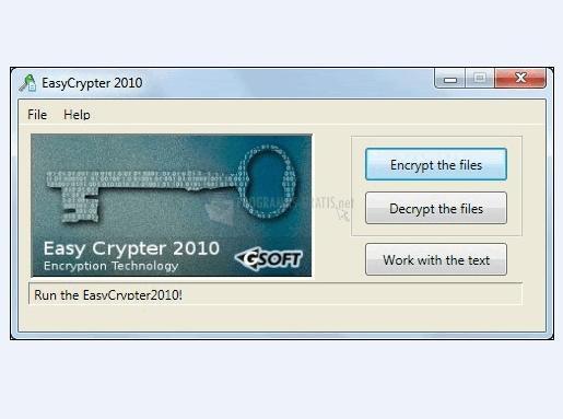 Pantallazo Easy Crypter