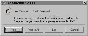 Pantallazo File Shredder 2000