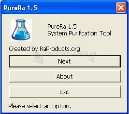 Pantallazo PureRa