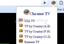 Pantallazo TV Chrome