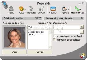 Pantallazo Foto SMS