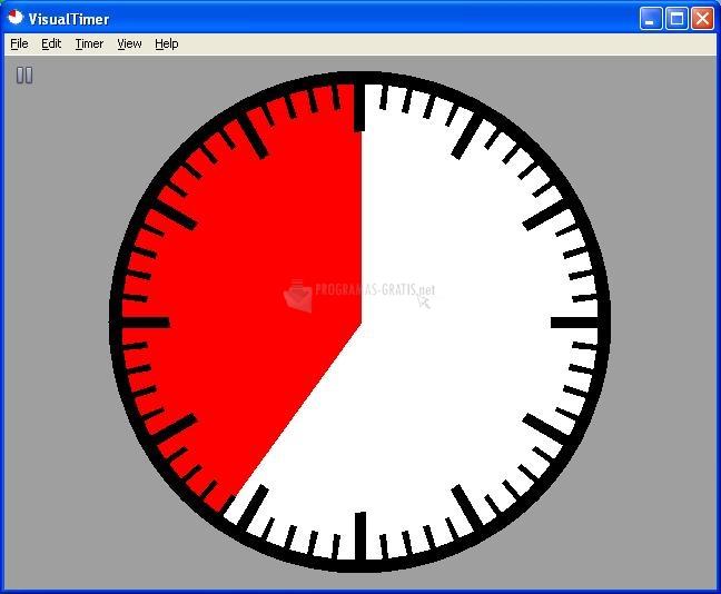 Pantallazo Visual Timer