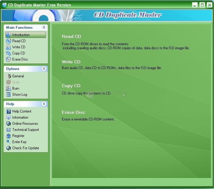 Pantallazo CD Duplicate Master
