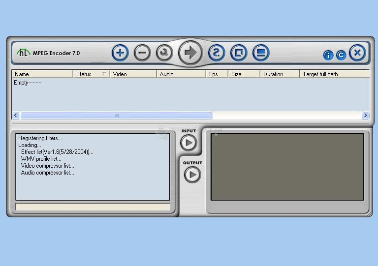 Pantallazo Honestech MPEG Encoder