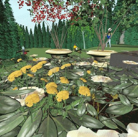 Pantallazo Diseño de Jardines 3D