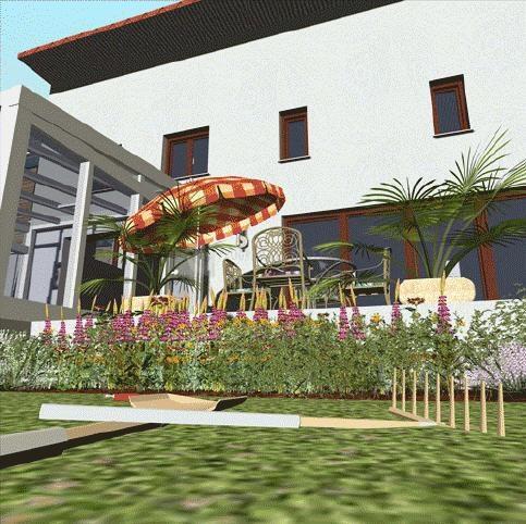 imágenes de diseño de jardines 3d 7.0