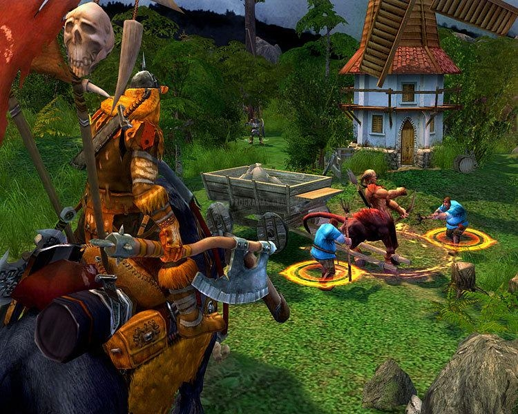 Pantallazo Heroes of Might and Magic V: Tribes of the East