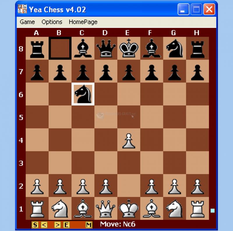Pantallazo Yea Chess