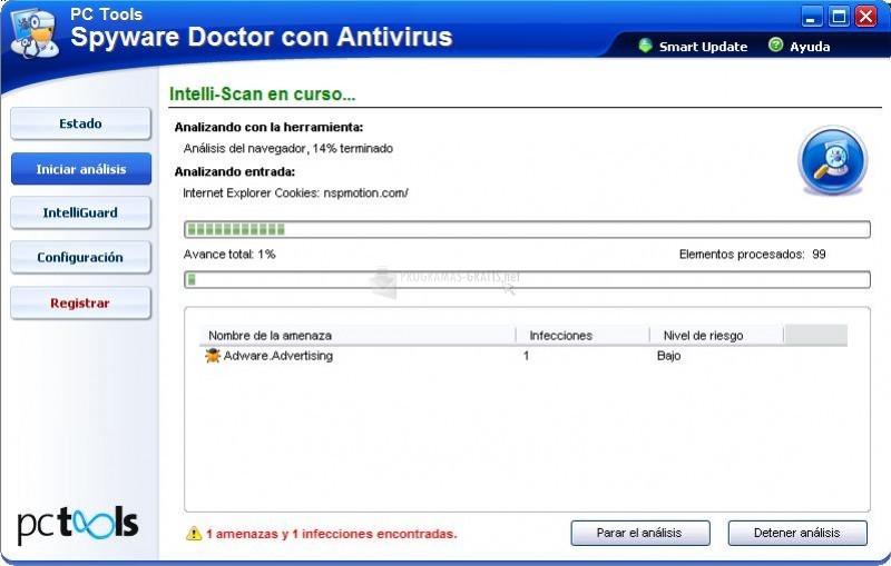 Foto Spyware Doctor con Antivirus