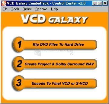 Pantallazo VCD Galaxy DVDRip CP
