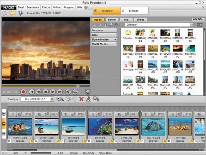 Pantallazo Magix Foto Premium