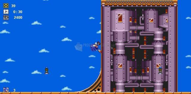 Pantallazo Sonic Chaos Revolution