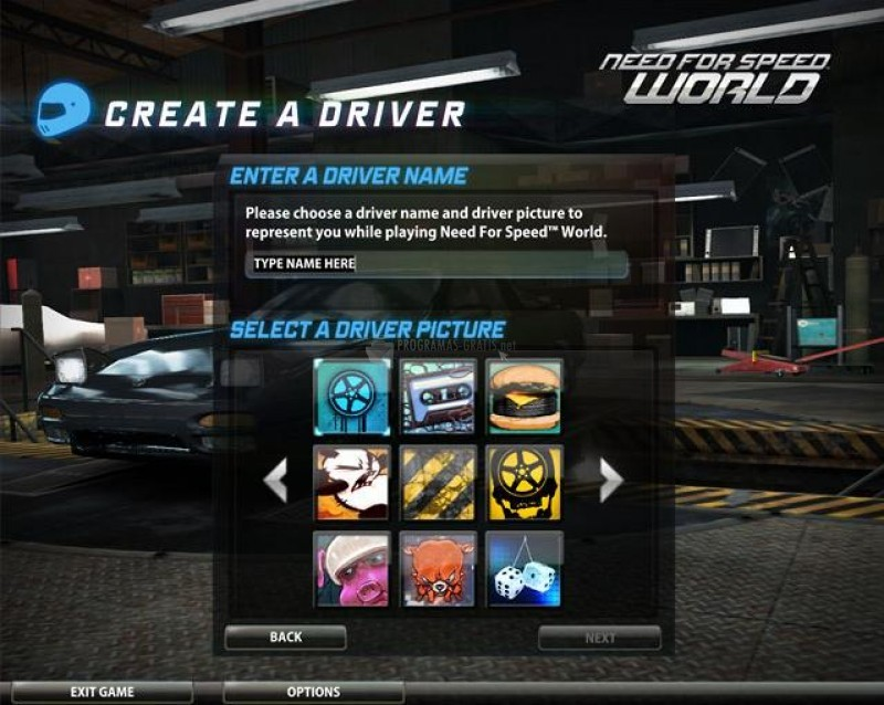 Pantallazo Need for Speed World