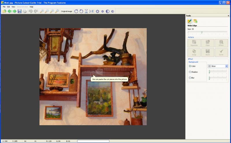 Screenshot Picture Cutout Guide