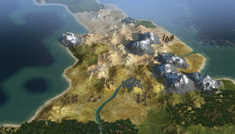 Pantallazo Civilization V