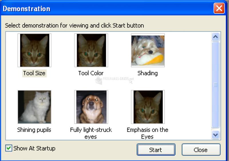 Pantallazo Pet Eye Fix Guide
