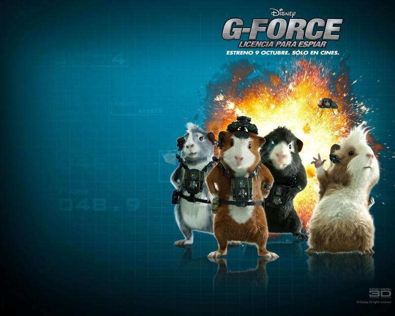 Pantallazo G-Force: Licencia para espiar