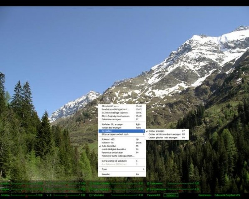 Pantallazo JPEG View