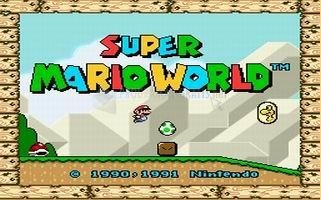 Pantallazo Super Mario World Deluxe