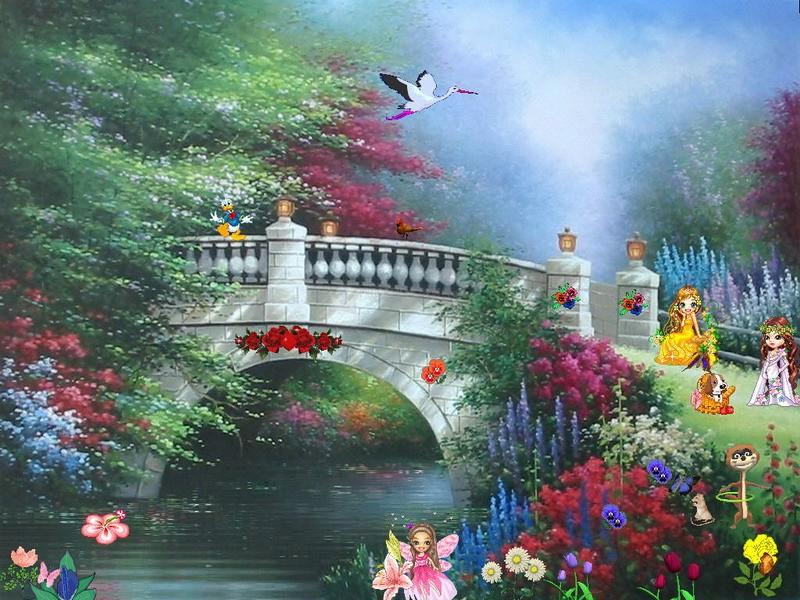 Pantallazo Spring Dream Screensaver